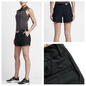 Nike gold black shorts size 0 NWT